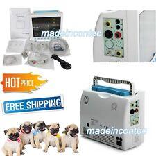 6 Parameters Vital Signs Patient Monitor Vet Veterinary Use CONTEC FDA US