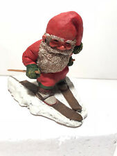 ENSCO ~ SANDMAN SKIING FIGURINE ~ RESIN ~ 1994 ~ 340537