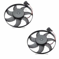 Vw EuroVan MV GLS Auto Trans Pair Set of 2 Auxiliary Fans Motor 345mm / 450w New