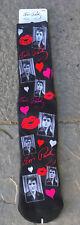 Elvis Presley Socks 50s Kiss Lips Heart MUST SEE Discontinued Memphis Graceland