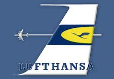 "Lufthansa Airlines Logo Fridge Magnet 3.25""x2.25"" Collectibles (LM14230)"