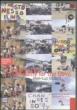 Jean Luc Godard: One plus one Sympathy for the devil   2 DVD Raro Video