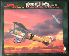 Hit Kit HK006- Albatros D.III (Öffag) seria 253 - 1:72 Flugzeug Bausatz - Kit