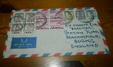IRAQ 1951 AIRMAIL COVER TO U.K. (postmarked Basrah Airport)