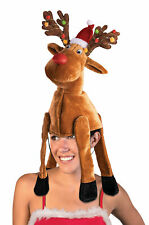 Festive Reindeer Funny Christmas Hat