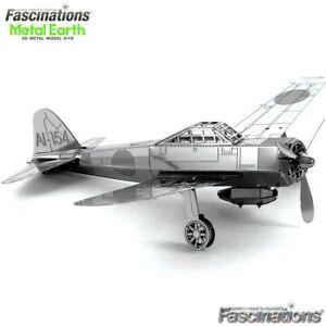 Metal Earth Mitsubishi Zero Fighter Plane A6M 3D DIY Model Building Kit Aircraft