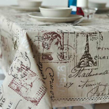 Decorative Tablecloth Rectangular Dining Table Cover Table Cloth Heat Resistant