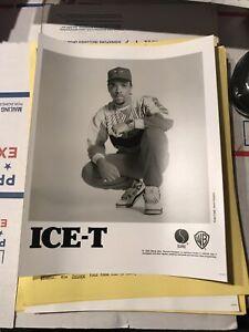 80s Ice-T Iceberg Record Rap Promo Hip Hop Sire WB Photo Press Kit Bio Gift Xmas
