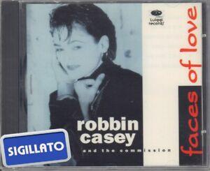 """ROBBIN CASEY AND THE COMMISSION """"FACES OF LOVE """"CD SIGILLATO PRIMA EDIZIONE 1995"""