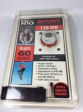 RIO Sports S35S 128MB MP3 WMA Player with FM Radio with Belt Clip New