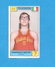CAMPIONI SPORT 1969-70-PANINI-Figurina n.315- BERTINI -ITALIA-PALLACANESTRO-Rec