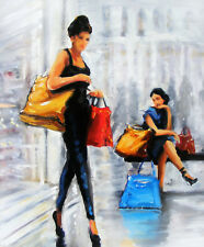 Shop Till You Drop!: Beautiful Art Greeting Card