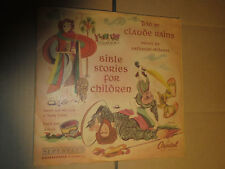 78RPM Capitol Claude Rains, Bible Stories for Children sleeved record set  EE-E