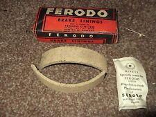 ROYAL ENFIELD ENSIGN 1955 150CC BRAKE LININGS FERODO FRONT / REAR