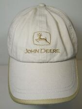 JOHN DEERE Farm Agriculture Tractor Lawn Mower LOGO ADVERTISING Adjustable Hat