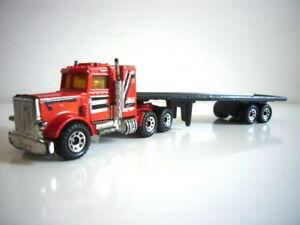 Matchbox Convoy: Peterbilt truck to complete Uniroyal set, super, made England