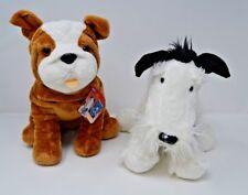 KOHLS CARES for Kids IKE and Bulldog Mrs. LaRue plush stuffed animals NWT