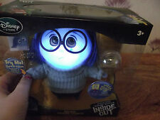 DISNEY INSIDE OUT TALKING FIGURE SADNESS DISNEY  STORE +INSIDE OUT BAG