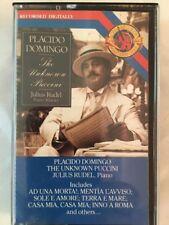 Placido Domingo - The Unknown Puccini  - Classical Cassette Tape (C162)