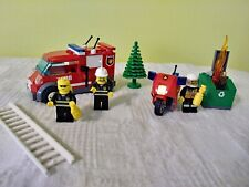 LEGO CITY (lot of 2) 7208 FIRE TRUCK (only) & 60000 FIRE MOTORCYCLE, pre-owned
