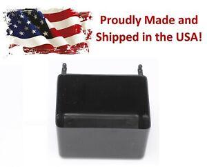 Small Plastic Black Pegboard Storage/Part Bins, Multi-Pack Pricing JSP Brand
