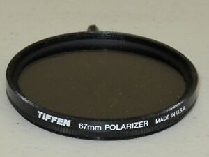 67mm Tiffen Linear Polarizing Filter POL Excellent  >Worldwide< #67m-3dt3