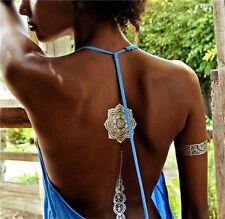 2016 Tattoo Bracelet Necklaces Gold Temporary Tattoos Sticker Metallic Tatoo