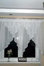 AG15 moderne Rideau prêt à poser voile blanc Beau rideau rideau en Fenêtre salon