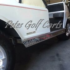 Aluminum Diamond Plate Side Skirts for Club Car Golf Cart DS 1982 and Up