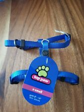 Top Paw Adjustible Harness XS. Blue