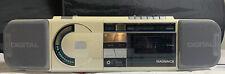 1987 Magnavox Boombox Vintage Radio Cassette CD Player D8880 Tested Works
