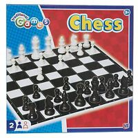 Traditional Games Chess Classic Game Family Kids Learn Logical Skills Board Game