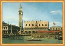 The Bucintoro at the Molo on Ascension Day Giovanni Canal Venedig B A1 02078