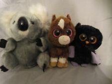 "Beanie Boo Swoops Bat 6"" Horse Dakota 7"" Koala 8"" Plush Soft Toy Stuffed Animal"
