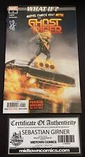 WHAT IF? GHOST RIDER #1 SIGNED By SEBASTIAN GIRNER Midtown Variant w/COA