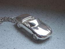 Schlüsselanhänger Mazda MX5 versilbert  5148