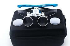 Dental Medical Magnification 3.5X Surgical Binocular Loupes Optical Glass Loupe