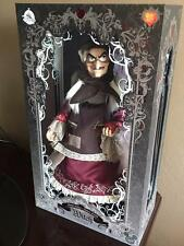 Disney D23 Expo Snow White Old Hag Evil Queen Limited Edition Doll LE 723 NIB