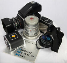 HASSELBLAD 500C/M Zeiss 80MM plus150MM A12 & (2)A24 EXTRAS CLEAN & BEAUTIFUL!!