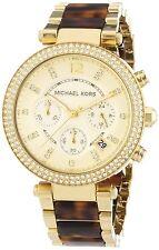 Michael Kors Women's MK5688 Parker Chronograph Gold-Tone Stainless Steel Watch