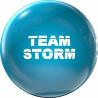 New Storm Team Storm Clear Bowling Ball | 1st Quality 15#1oz Top 2.50 Pin .5-1.5