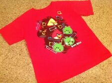 Boys Size Large Angry Birds Red T-Shirt Gently Worn