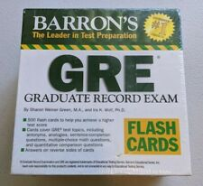 Barron's GRE Flash Cards *NEW* in shrink wrap