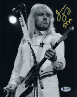 JAMES YOUNG SIGNED AUTOGRAPHED 8x10 PHOTO LEGENDARY GUITARIST STYX BECKETT BAS