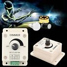 PWM Dimmer Controller LED Light Lamp Strip Adjustable Brightness 12V-24V 8A PI