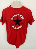 BOYS CONVERSE SMART T-SHIRT CREW NECK SHORT SLEEVES TOP RED 8-10 YEARS