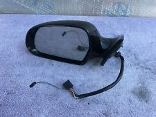 09 10 2011 12 AUDI S5 A5 DRIVER SIDE LEFT SIDE VIEW MIRROR WITH BLIND SPOT BLACK
