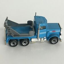 Matchbox Cement Mixer Truck 1981 Blue Toy 1:80 FOR PARTS MISSING BARREL 1980s