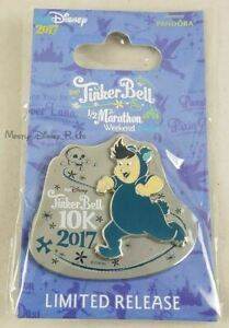 2017 Run Disney Tinker Bell Half 1/2 Marathon 10K Lost Boys Cubby Pin Limited