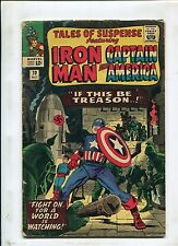 Tales Of Suspense Lot - Captain America Iron Man Red Skull -1966 (Grade Vary) WH